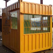 Mua container văn phòng giá rẻ làm nhà bảo vệ.